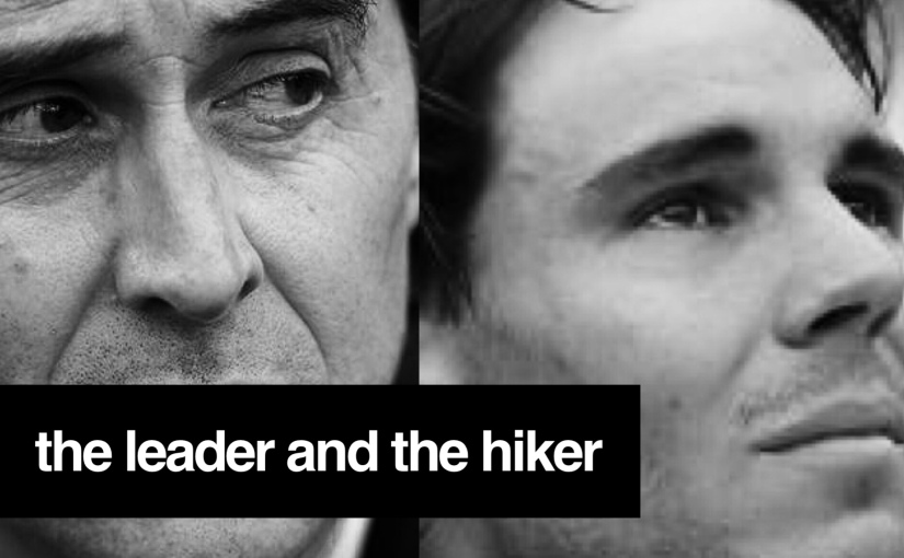 the leader and the hiker