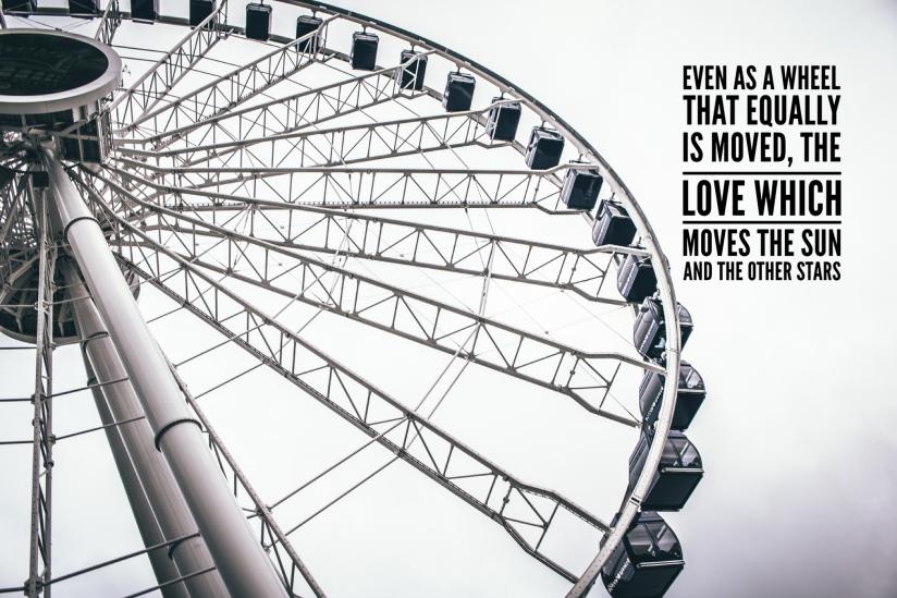 It is not a project, it is a waterwheel